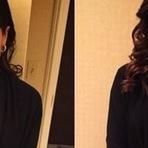 Desesperada Anitta aparece com decote no Grammy