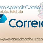 Vagas - JOVEM APRENDIZ CORREIOS 2015 - ES - INSCRIÇÕES, EDITAL, LISTA