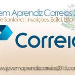 Vagas -  JOVEM APRENDIZ CORREIOS 2015- FEIRA DE SANTANA- INSCRIÇÕES, EDITAL, LISTA