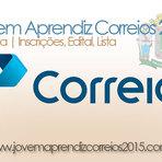 Vagas - JOVEM APRENDIZ CORREIOS 2015- GOIÂNIA- INSCRIÇÕES, EDITAL, LISTA