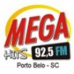 Rádio Mega Hits FM 92,5 ao vivo e online Porto Belo SC