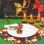 Hobbies - Prato Decorado Feito de Cartonagem para o Natal