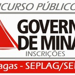 INSCRIÇÕES Concurso Seplag/SEE MG - Governo de Minas Gerais - 2014-2015