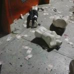 Violência - Bandidos rendem seguranças e explodem caixas eletrônicos no Moda Center