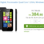 Nokia 630 por apenas R$384! Corre que dá tempo!