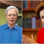 O encontro de Dilma com Leonardo Boff e Frei Betto