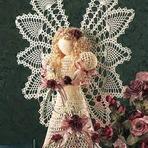 Hobbies - Anjos de Crochê para o Natal!
