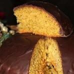 Receita: Bolo Natalino de Amêndoas e Chocolate