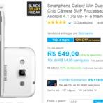 Submarino - Smartphone Galaxy Win Duos Branco 54% de Desconto!