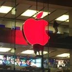 Internacional - A Apple aparece em Sydney com logotipo vermelho