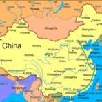 Mapa da China para Imprimir