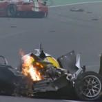 Acidente com Mark Webber nas 6 Horas de São Paulo