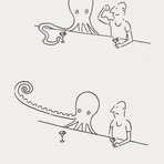 Ilustrações em uma só linha