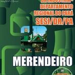 Apostila Concurso do SESI-PA, Merendeiro, 60 vagas