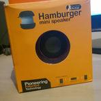 Que tal ganhar um Mini Speaker Hamburger?