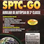 Apostila Impressa SPTC-GO 2015 - Auxiliar de Autópsia de 3ª Classe
