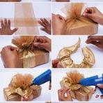 Hobbies - Como Fazer Lindas e Criativas Embalagens de Presente de Natal