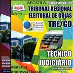 Apostila Concurso do TRE de GOIÁS - Especifica Técnico Judiciário - Conteúdo Grátis CD -  Entrega Imediata!