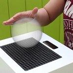 sinta hologramas 3D com a ajuda de ultrassom