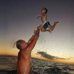 Fotos -  Souleye, em um momento pai e filho