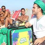 Ex-vendedor de praia cria fast food saudável