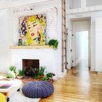 Transformando um apartamento antigo em uma agradável e jovem moradia
