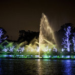 Fonte do Ibirapuera conta histórias de Natal com show das águas