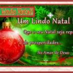 Um Lindo Natal!!...Que o seu natal seja repleto de prosperidades!!!