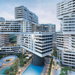 Projeto residencial em Singapura cria jardins nas alturas