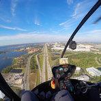 Passeio de Helicóptero em Orlando por 20 dólares.