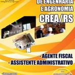 Apostila Impressa para Concurso Público Conselho Regional de Engenharia do RS - Crea Rio Grande do Sul (RS) COMPLETA