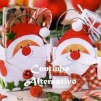 Arquitetura e decoração - Artesanato De Natal Com Caixa De Leite!