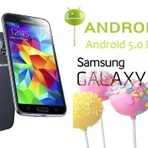 Galaxy S5 começa a receber a atualização para Android 5.0 Lollipop