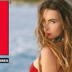 """Belinda é Capa da Revista """"H para Hombres"""" Edição de Dezembro"""