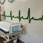 Arquitetura e decoração - A decoração natalina de um hospital