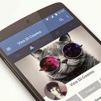 Aplicativo do Facebook Pode Receber Material Design