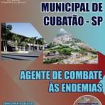 Apostila Completa 2014 AGENTE DE COMBATE ÀS ENDEMIAS - Concurso Prefeitura Municipal de Cubatão