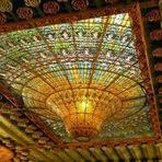 A arte e beleza dos tetos de edifícios!