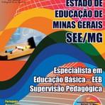 Apostila para o concurso da SEE MG Cargo - Especialista Em Educação Básica – Eeb – Supervisão Pedagógica