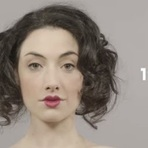 100 anos da beleza feminina