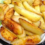 Batatas no forno