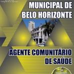 APOSTILA PREFEITURA DE BELO HORIZONTE AGENTE COMUNITÁRIO DE SAÚDE 2014