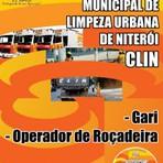 Apostila Concurso Campanhia  Municipal de Limpeza Urbana de Niterói (CLIN 2014 Gari e Operador de Roçadeira