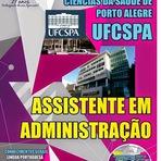 Apostila - Concurso Universidade Federal UFCSPA - Porto Alegre/RS (Grátis CD)