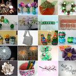 Arquitetura e decoração - Curso de reciclagem – 130 ideias simples e criativas para reciclar objetos em casa
