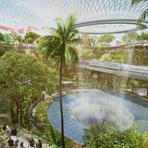 """Expansão do aeroporto de Singapura é uma verdadeira """"Joia"""""""