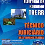 Apostila PREPARATÓRIA Tribunal Regional Eleitoral TRE RORAIMA-RR - Técnico Judiciário – Área Administrativa (Digital)