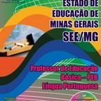 Apostila para o concurso da SEE MG Cargo - Professor De Educação Básica – Peb – Língua Portuguesa