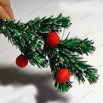 Como fazer ramos de arvore de natal