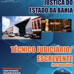 Apostila para o concurso do Tribunal de Justiça do Estado BA Cargo - Técnico Judiciário Escrevente – área Judiciária
